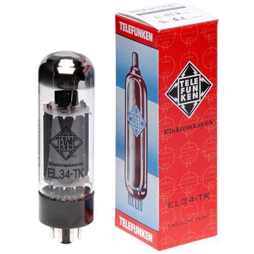 Telefunken EL34-TK Black Diamond Series Vacuum Tubes (Matched Pair)