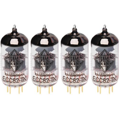 Telefunken Matched Quad of ECC82-TK (12AU7)