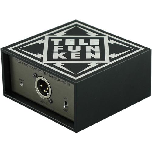 Telefunken TDA-1 Single-Channel Active Direct Box