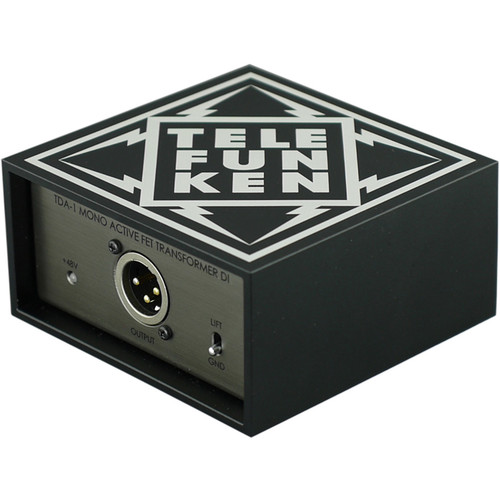 Telefunken TDA-1 Single-Channel Active Direct Box