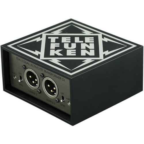 Telefunken TDA-2 Dual-Channel Active Direct Box