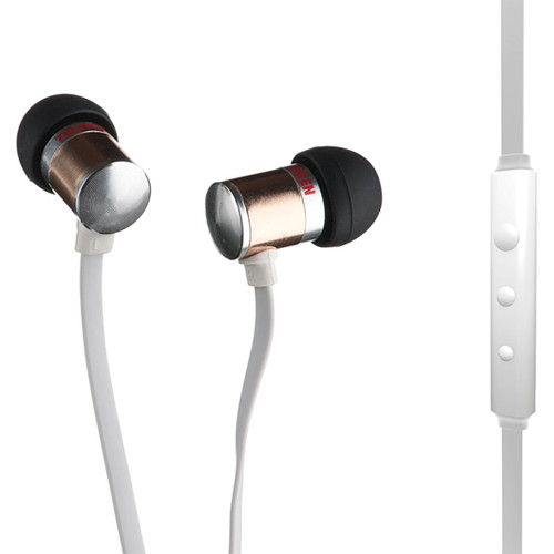 Telefunken TH-100ci Noise Isolating Earphones (Copper, In-Line Microphone and Remote Control)