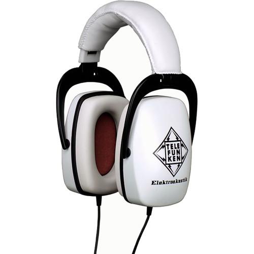 Telefunken THP-29 Over-Ear Isolation Headphones (White)