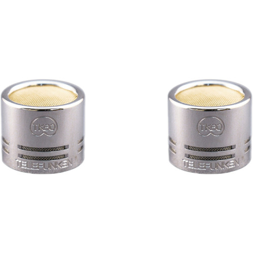 Telefunken TK60-S Small-Diaphragm Cardioid Capsules for ELA M 260 or M60 FET Microphones (Matched Pair)