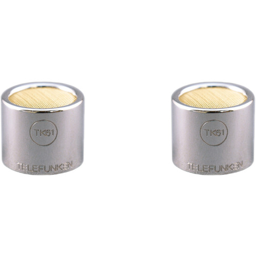 Telefunken TK61-S Small-Diaphragm Omnidirectional Capsules for ELA M 260 or M60 FET Microphones (Matched Pair)