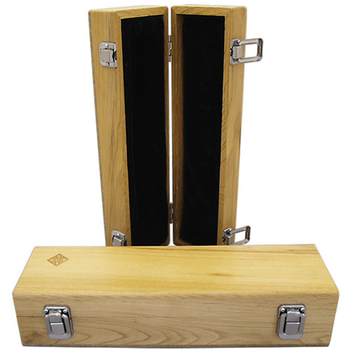 Telefunken WB01 Wooden Microphone Box with Diamond Logo