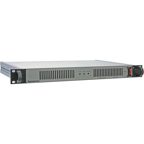 Telemetrics PS-RM-48-2 Rackmount Power Supply (48V)