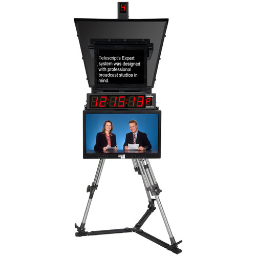 "Telescript Expert 190 Teleprompter System with 19"" Monitor"