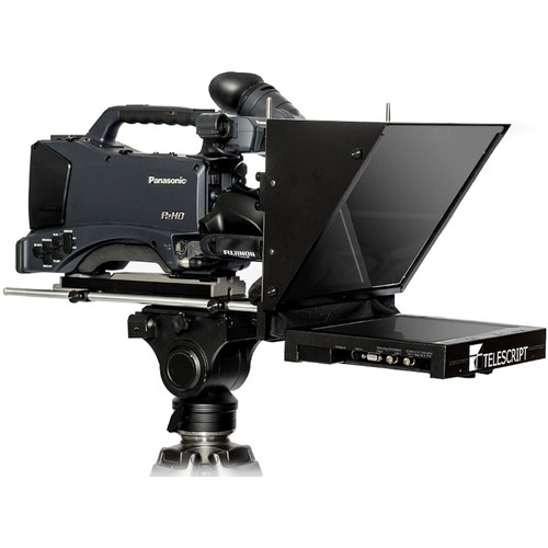 """Telescript FPS120s In-Studio On-Camera Flat Panel Prompting System with 12"""" LCD Monitor"""