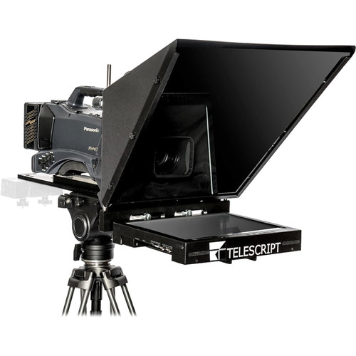 "Telescript FPS190s-SDI In-Studio On-Camera Flat Panel Prompting System with 19"" LCD Monitor"