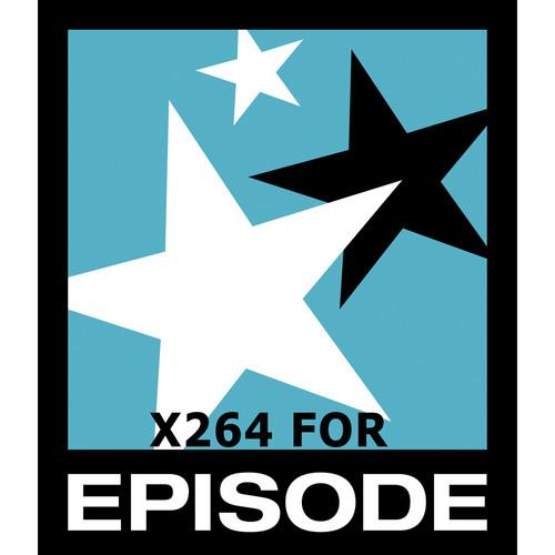 Telestream x264 Encoding Option for Episode/Episode Pro for Mac