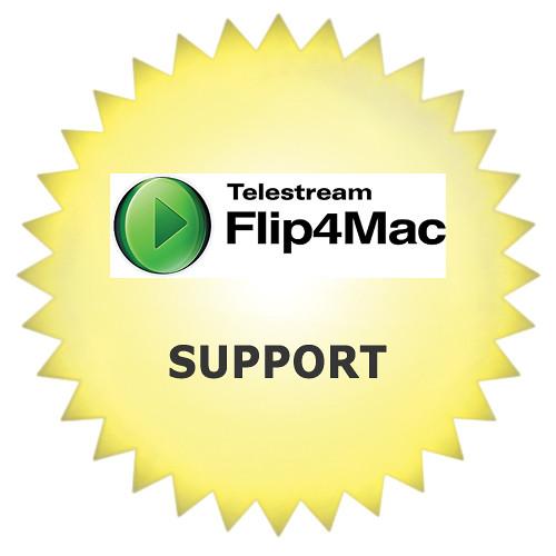 Telestream Premium Support for Flip4Mac (Additional Year)