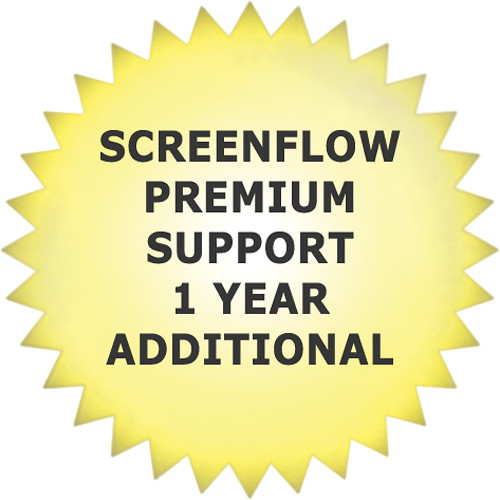 Telestream Premium Support for ScreenFlow 4 (Additional Year)