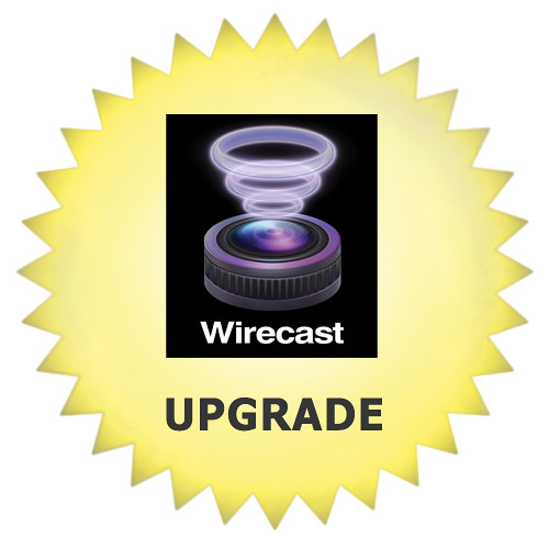 Telestream Wirecast Studio 5 Upgrade from Wirecast Studio 1.x-4.x (Mac)