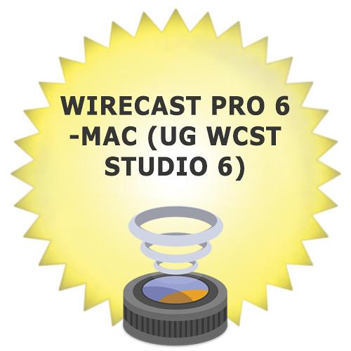 Telestream Wirecast Pro 6 Upgrade from Wirecast Studio 6 for Mac (Download)