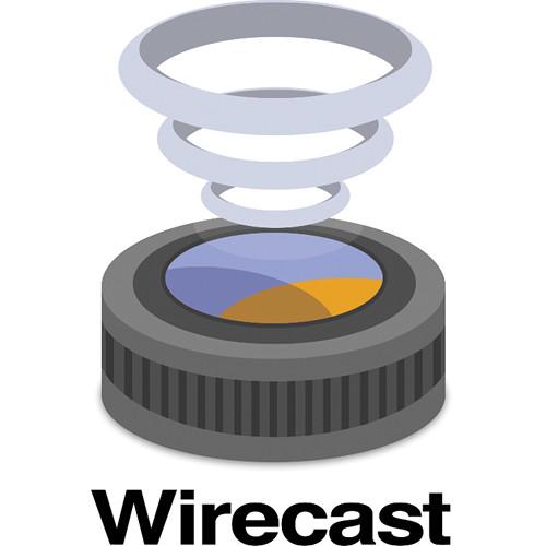 Telestream Wirecast Studio 6 Upgrade from Wirecast Studio 5 for Windows (Download)