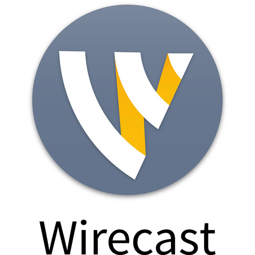 Telestream Wirecast Studio 7 Live Streaming Software for Windows (Upgrade from Studio 3.x-6.x)