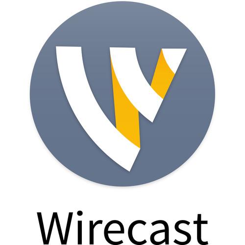Telestream Wirecast Studio 8 (Upgrade from Studio 4-6)