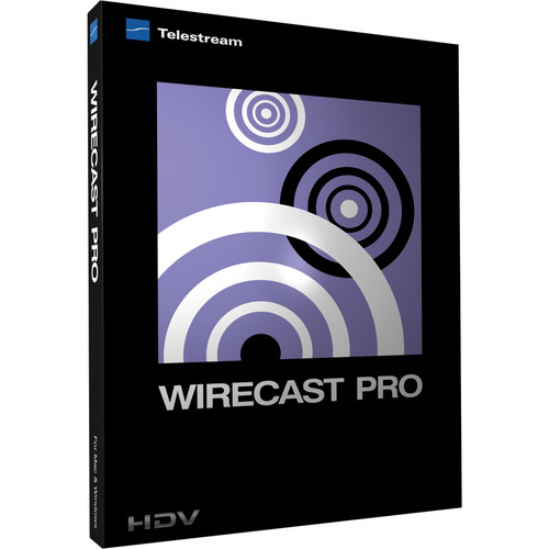 Telestream Wirecast Studio to Wirecast Pro for Windows (Upgrade)