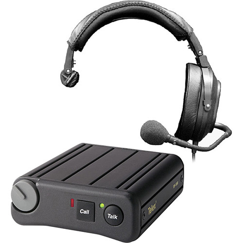 Telex BP-1002 Single-Channel Beltpack and HR-1 Headset Kit