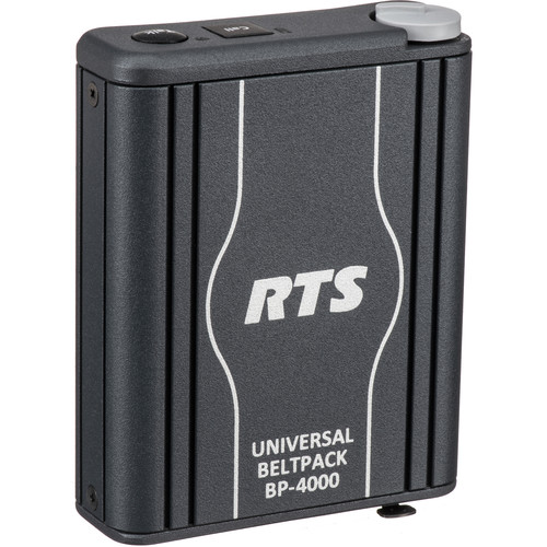 Telex BP-4000 Single-Channel Portable Beltpack Headset Station (4-Pin XLR, Male)