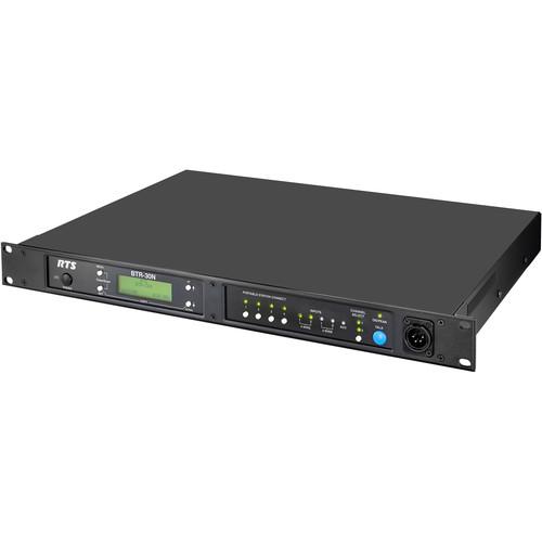 Telex 2-Channel VHF/UHF Wireless Intercom Base Station, F10 Band, A5F Connector