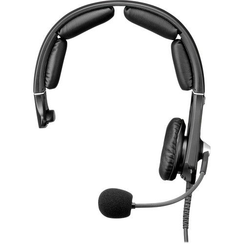 Telex MH-300 Single-Sided Lightweight Headset with 4-Pin XLR Male