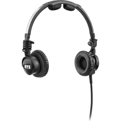 "Telex LH-302 Lightweight RTS Double-Sided Broadcast Headset (1/4"" Connector, No Microphone)"