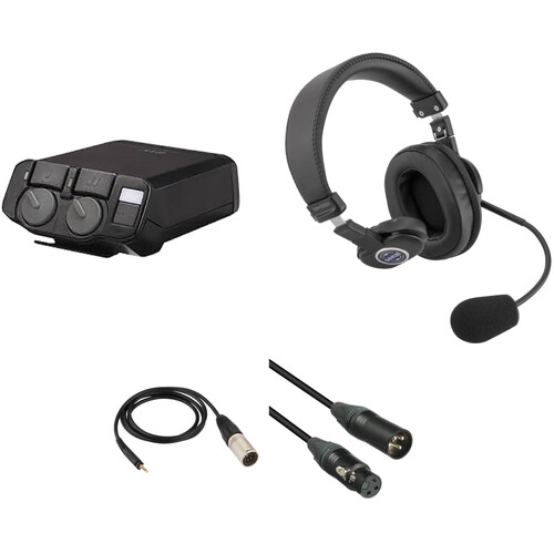 Telex RTS 2-Channel Portable Beltpack Communications Kit with Single-Sided Headset
