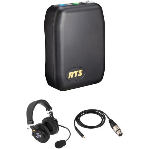 Telex TR-240 Wireless Intercom Communication Kit with Dual-Sided Headset