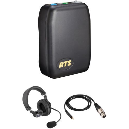 Telex TR-240 Wireless Intercom Communication Kit with Single-Sided Headset