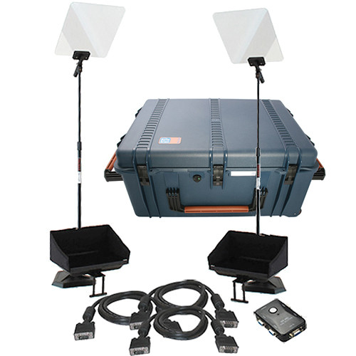 "Telmax 17"" Teleprompter Bundle with Hard Case"