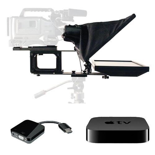 """Telmax GS17-R 17"""" Teleprompter & Apple TV Kit for AirPlay Mirroring"""