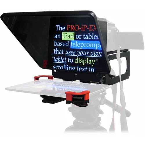 Telmax Portable iPad Teleprompter, Tripod & Hard Case Kit