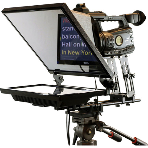 """Telmax Triton II T2-15 Teleprompter System with 15"""" LCD Monitor"""