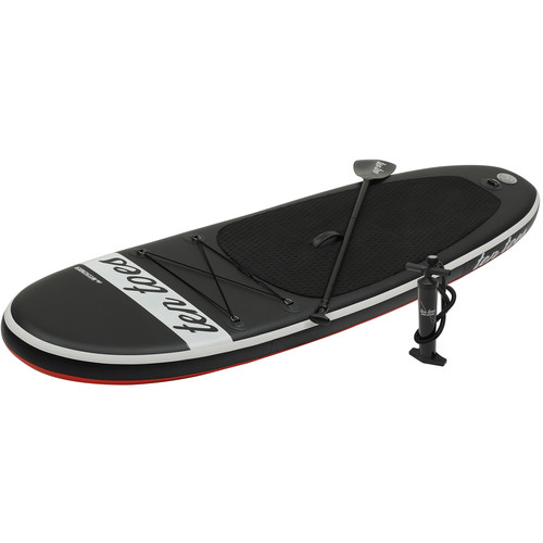 Ten Toes Board Emporium Weekender 10' Inflatable Stand-Up Paddleboard (Black/Red)