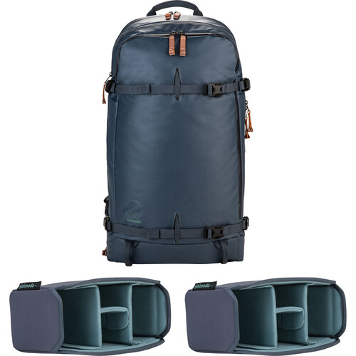Shimoda Designs Explore 40 Backpack Starter Kit with 2 Small Core Units (Blue Nights)