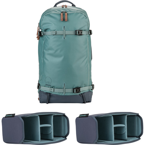 Shimoda Designs Explore 40 Backpack Starter Kit with 2 Small Core Units (Sea Pine)