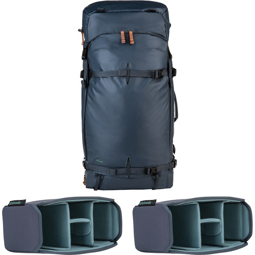 Shimoda Designs Explore 60 Backpack Starter Kit (Blue Nights)