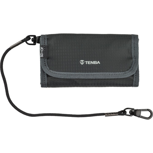 Tenba Tools Reload SD 6 + CF 6 Card Wallet (Gray)