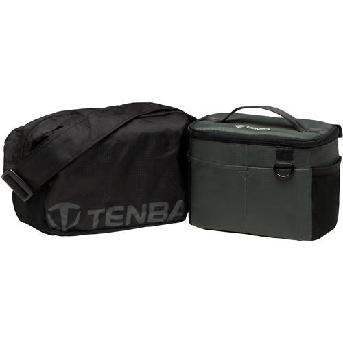 Tenba BYOB/Packlite 7 Flatpack Bundle with Insert and Packlite Bag (Black and Gray)