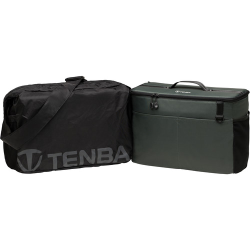Tenba BYOB/Packlite 13 Flatpack Bundle with Insert and Packlite Bag (Black and Gray)