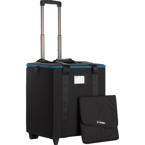 Tenba 1x1 LED 3-Panel Case with Wheels (Black)