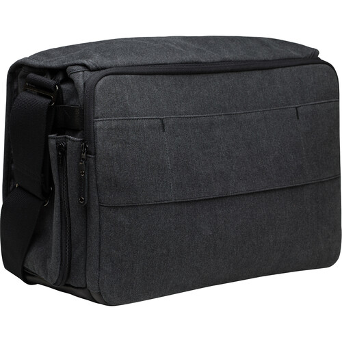 Tenba Cooper 15 Messenger Bag with Leather Accents (Gray)