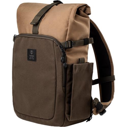 Tenba Fulton 10L Backpack (Tan and Olive)