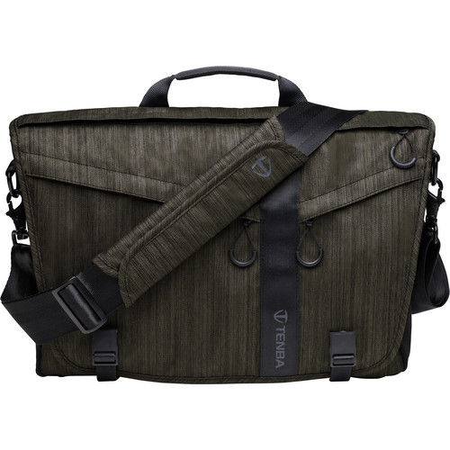 Tenba DNA 15 Slim Messenger Bag (Olive)