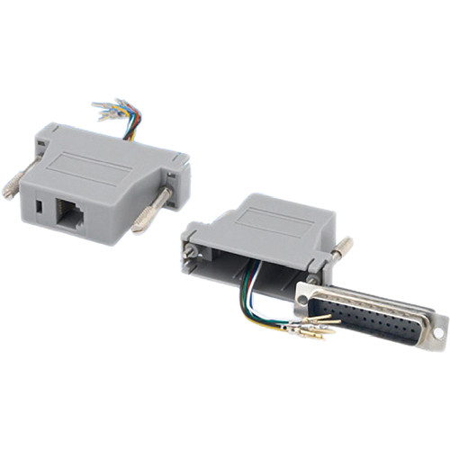 Tera Grand DB 25-Pin Male to RJ-12 Female Modular Adapter