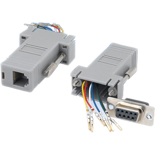 Tera Grand DB 9-Pin Female to RJ-12 Female Modular Adapter
