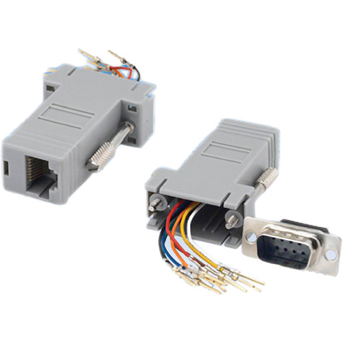 Tera Grand DB 9-Pin Male to RJ-45 Female Modular Adapter