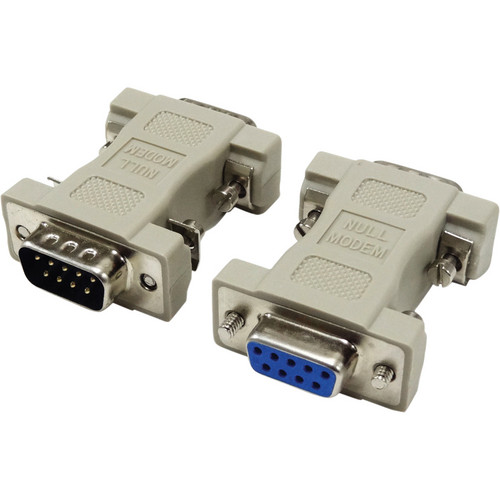 Tera Grand DB 9-Pin Male to Female Null Modem Adapter